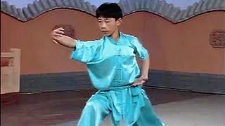 getlinkyoutube.com-Shaolin small flood kung fu (xiao hong quan)