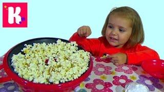 getlinkyoutube.com-Готовим попкорн сами жарим кукурузу на аппарате Cooking pop-corn on popcorn maker roast corn