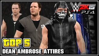 getlinkyoutube.com-WWE 2K15 - Dean Ambrose Top 5 Attires - Community Creations
