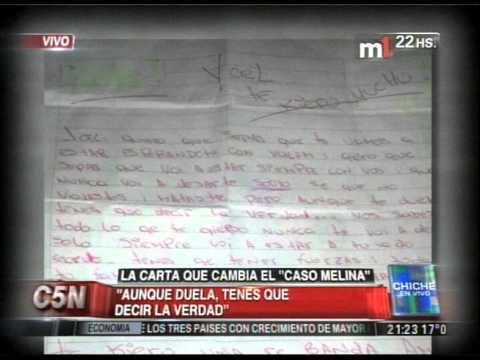 C5N - CHICHE EN VIVO: LA CARTA QUE PUEDE CAMBIAR EL CASO MELINA (PARTE 1)