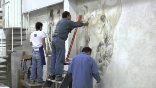 getlinkyoutube.com-Pintura Mural Al Fresco (UNAM)