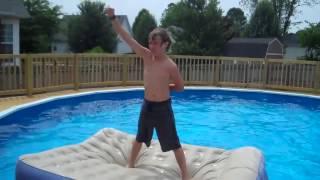 getlinkyoutube.com-Sick Wrestling Moves In The Pool!!!