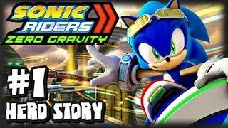 Sonic Riders Zero Gravity - (1080p) Hero Story - Part 1