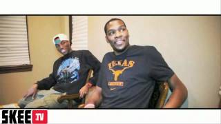 DJ Skee Interviews Kevin Durant, James Harden and Privaledge