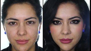 getlinkyoutube.com-Maquillaje Correctivo - Pieles con Acne - Ojos Intensos