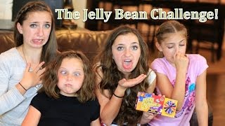 getlinkyoutube.com-The Gross-Out Jelly Bean Challenge | Brooklyn and Bailey