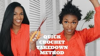 getlinkyoutube.com-Really Quick Crochet Takedown Tutorial | Outre X-Pression Dominican Blowout Straight