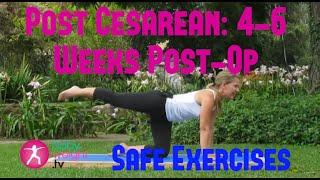getlinkyoutube.com-Safe Exercises After A Cesarean: 4-6 Weeks Post-Op 2 (Full Video)