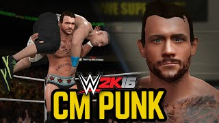 getlinkyoutube.com-WWE 2K16: CM PUNK!!