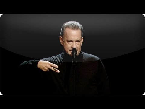 "Tom Hanks Performs Slam Poem About ""Full House"" (10/23/12)"
