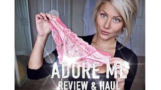 getlinkyoutube.com-Adore Me lingerie haul & review