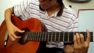 Super Arpegio triste en guitarra Curso lecciones tutorial clases de guitarra 64