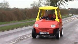 getlinkyoutube.com-Real toy car driven on roads!