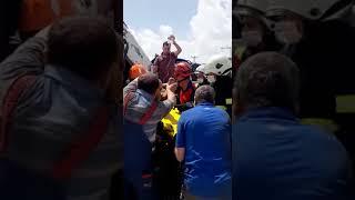 Nevşehir'de freni patlayan kamyonet 2 araca çarparak durabildi