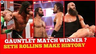 7 Men Gauntlet Match Winner | WWE Raw 19/February/2018 Highlights