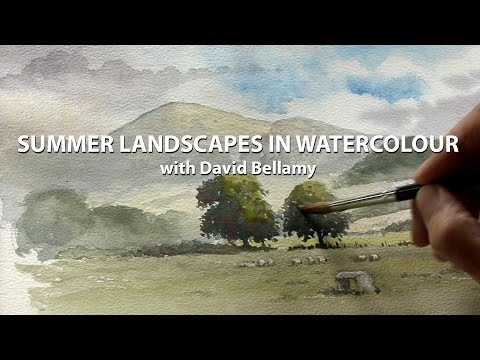 SUMMER LANDSCAPES IN WATERCOLOUR: David Bellamy