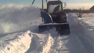 getlinkyoutube.com-Самодельный снегоуборщик