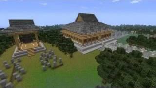 getlinkyoutube.com-【Minecraft】幻想郷再現【東方二次創作】1