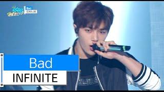 getlinkyoutube.com-[HOT] INFINITE - Bad, 인피니트 - 베드, Show Music core 20151226