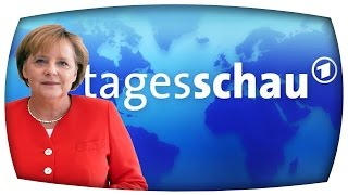 getlinkyoutube.com-YouTube Kacke: Angela Merkel + Freundliches Wetter | Tagesschau Verarsche #1