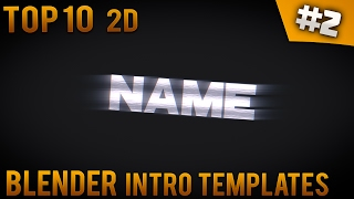 getlinkyoutube.com-TOP 10 Blender 2D Intro templates #2 (Free download) - IntroFactory