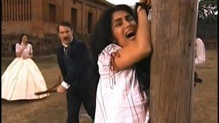getlinkyoutube.com-A Escrava Isaura (Record) - Leôncio , Malvina e Seu Chico dão Uma Surra em Rosa