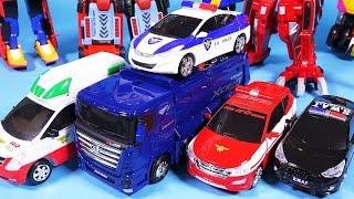 getlinkyoutube.com-헬로카봇 펜타스톰 5단합체 또봇 Hello Carbot Pentastorm TOBOT robot car toys