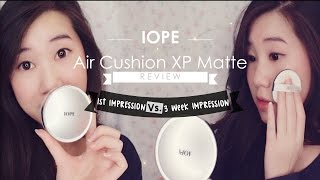 IOPE Air Cushion XP Matte Finish: Review
