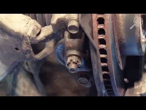Замена нижнего рычага передней подвески