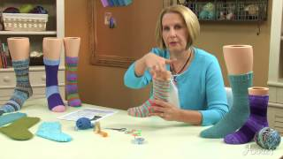 getlinkyoutube.com-Learn How to Knit Socks with Annie's Online Classes