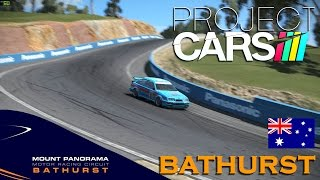 getlinkyoutube.com-Project CARS World Record 2:10.453 @Bathurst Ford Sierra RS500 Cosworth Group A & setup guide