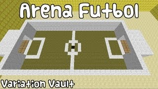 getlinkyoutube.com-Minecraft Bukkit Plugin - ArenaFutbol - Football in minecraft!