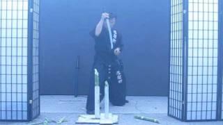 getlinkyoutube.com-Chosun Ninjato Part 2 (Homestudy Indoor sword techniques) video #275