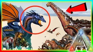 getlinkyoutube.com-ARK Dinosaur Size Comparisons! UPDATE! (ARK: Survival Evolved Dino Sizes) v5