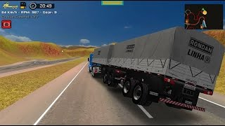 getlinkyoutube.com-Grand Truck Simulator - Quebra da asa - Scania 113H + Randon bitrem