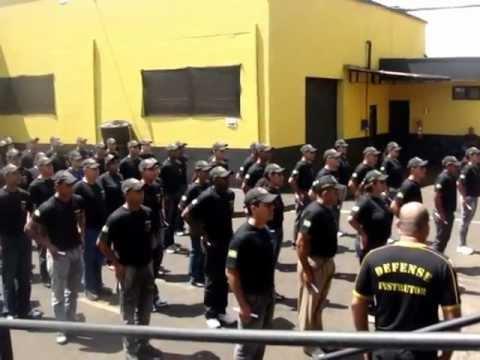 FORMAÇÃO DE VIGILANTES NA DEFENSE - TURMA 063/064 EM 23/09/2011