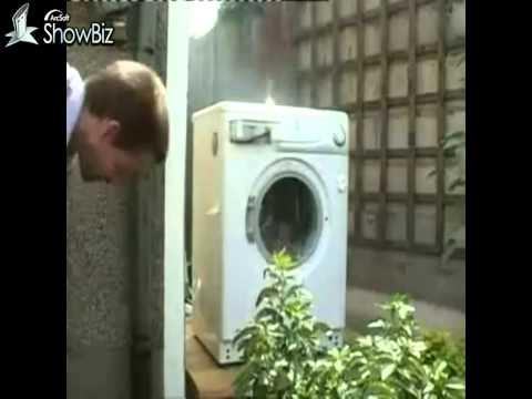 Washing Machine Self Destructs