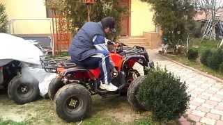 prezentare ATV BAshan  NOu la 150 cc -