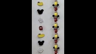 getlinkyoutube.com-Guirnaldas de Mickey Mouse para decorar fiestas de cumpleaños. Mickey Mouse garlands