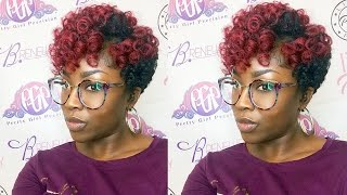 How to TWA Crochet  CurlKalon Hair Review