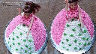 Cara Membuat Kue Ulang Tahun Barbie Sederhana width=
