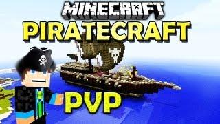 Minecraft - PIRATECRAFT - PvP Map - Schießt ab die Landratten!