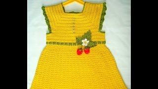 getlinkyoutube.com-Crochet Patterns  for free  crochet baby dress  1522