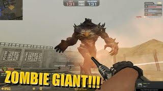 getlinkyoutube.com-Counter-Strike Nexon: Zombies - Zombie Giant - Map: Splash