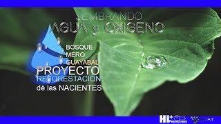 SEMBRANDO AGUA y OXIGENO...Paraíso de Cartago