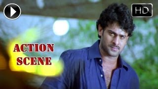 Ek Niranjan Movie | Prabhas Introduction Fight Scene