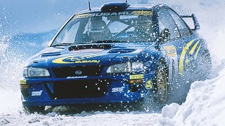 getlinkyoutube.com-Juha Kankkunen & Richard Burns testing Subaru Impreza WRC - with pure engine sounds