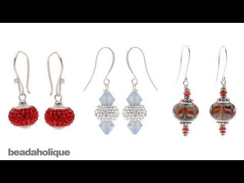 How to Make Earrings Using Pandora Style Beads
