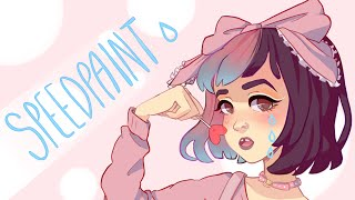 getlinkyoutube.com-Melanie Martinez [Speedpaint] - Paint tool SAI