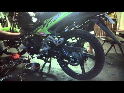 Kawasaki Fury R 150cc 55.2mm Stroker 4 Valve Takegawa Head and Keihin FCR 28